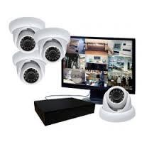 installation de kit de caméra de surveillance